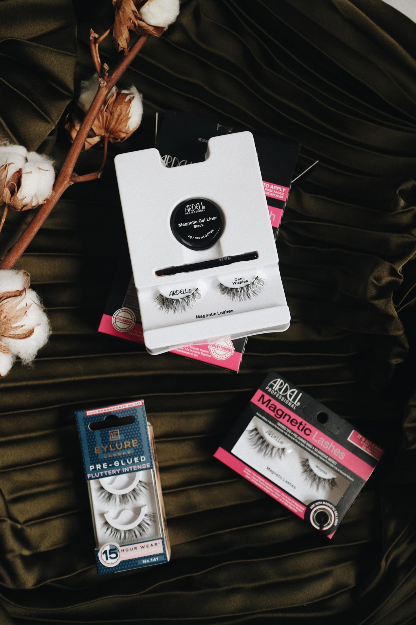magnetic lashes, ardell, eylure