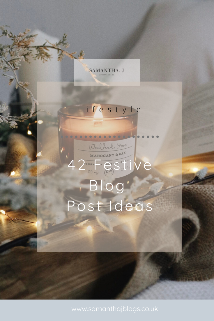 festive blog post ideas