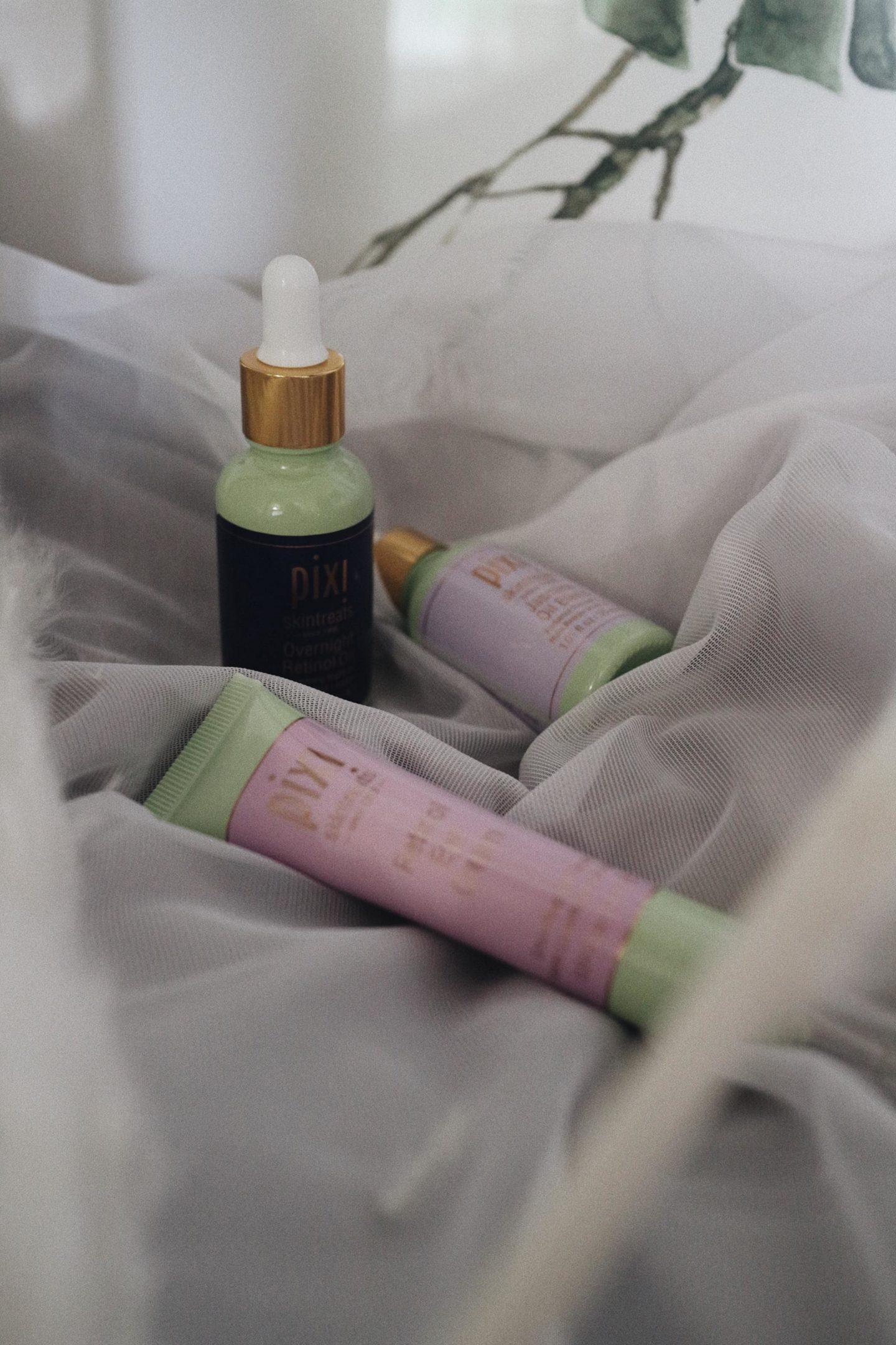 Pixi Beauty retinol and jasmine collection