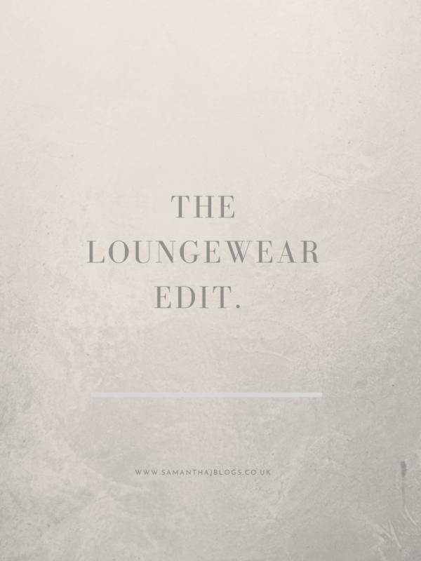the loungewear edit